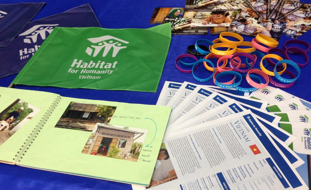 Habitat joins TAS service fair 2015