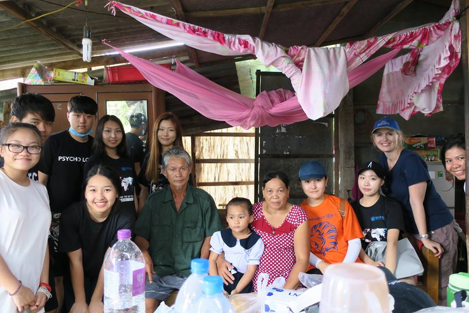 The team and family of Ms. Muoi